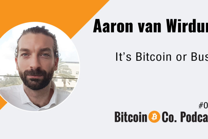 Podcast with Aaron van Wirdum