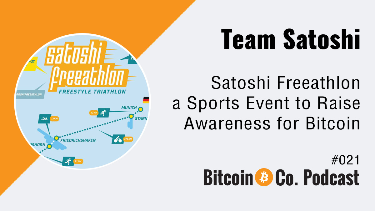 Podcast with Team Satoshi
