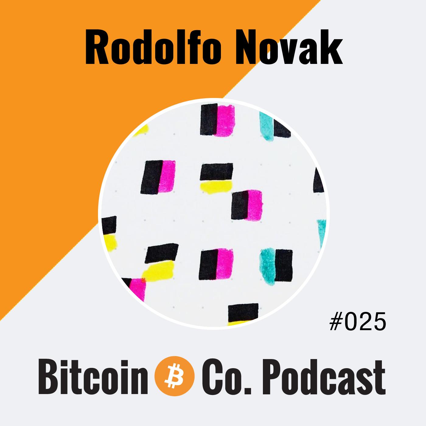 Rodolfo Novak Bitcoin Podcast