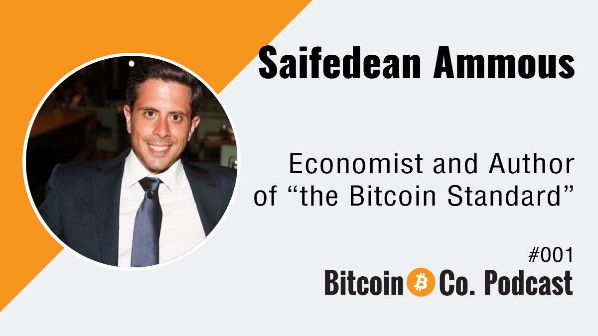 Podcast with Saifedean Ammous