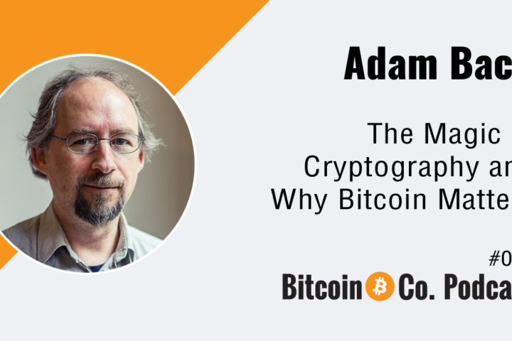 Podcast with Adam Back