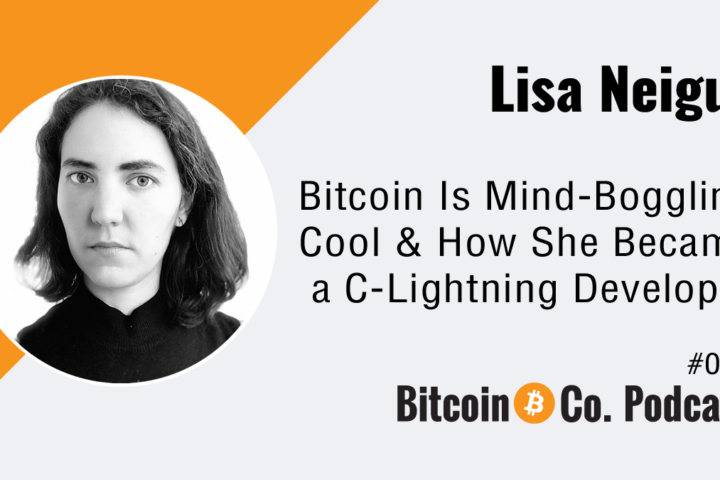Lisa Neigut Female Bitcoin Engineer