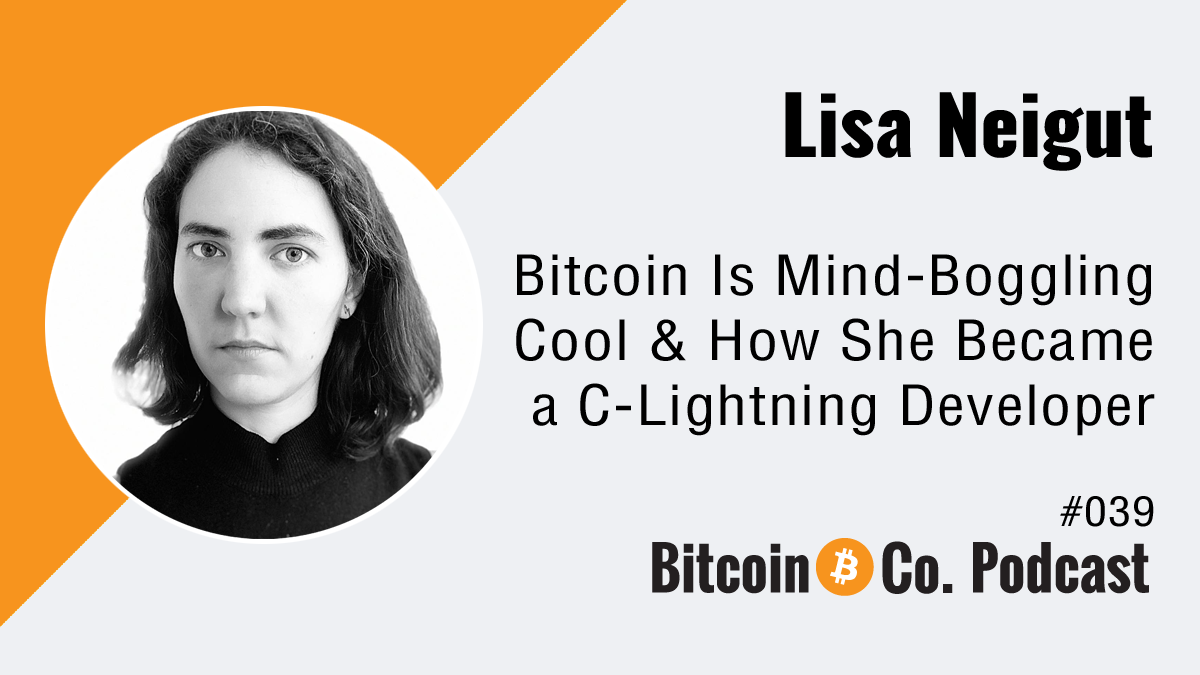 Lisa Neigut Female Bitcoin Engineer