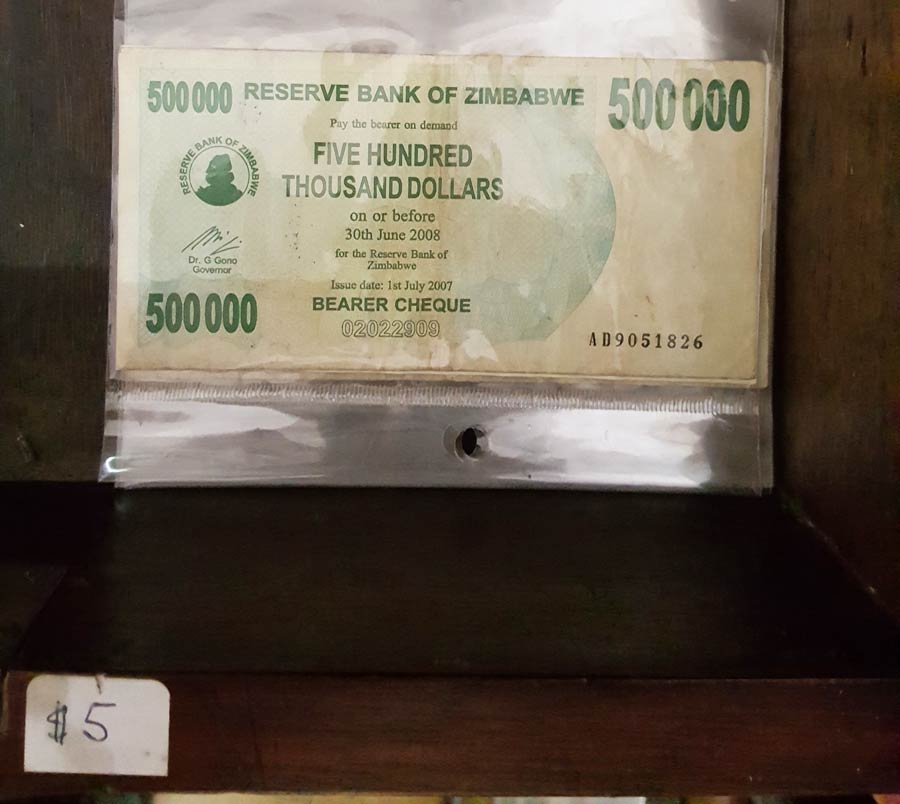 500 000 Dollar Note