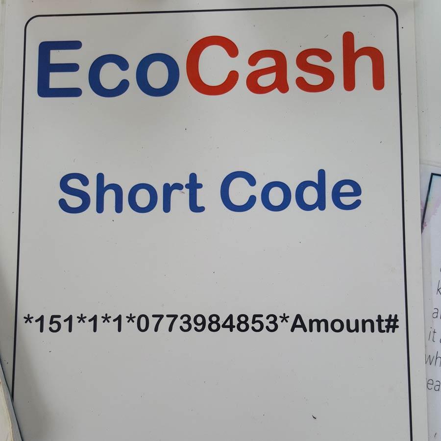 EcoCash sign