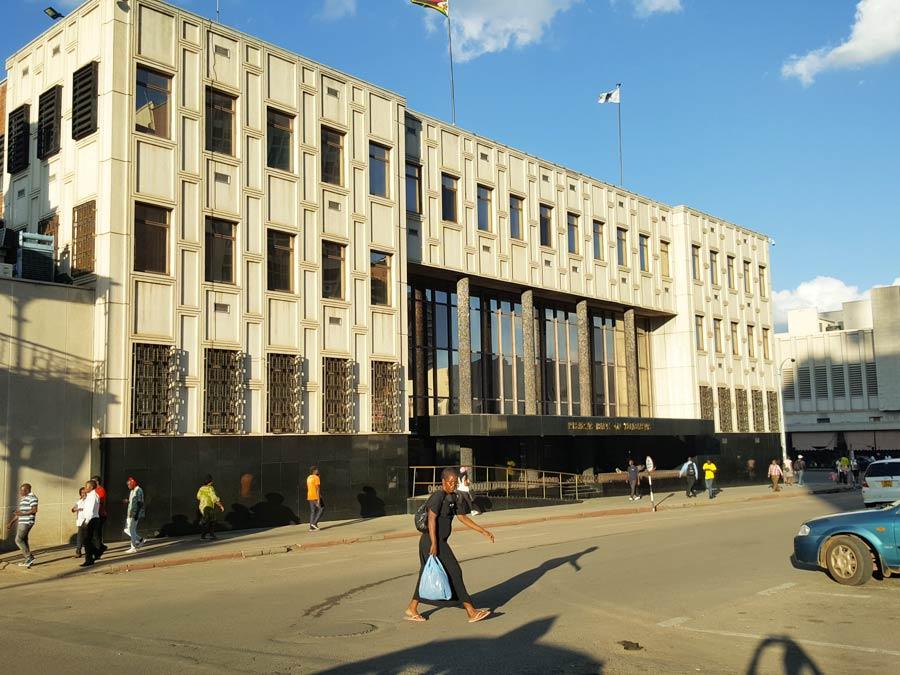 Reserve Bank Zimbabwe Building