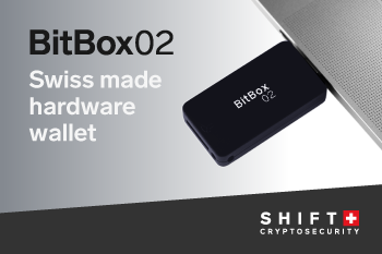 BitBox02 - Swiss made hardware wallet