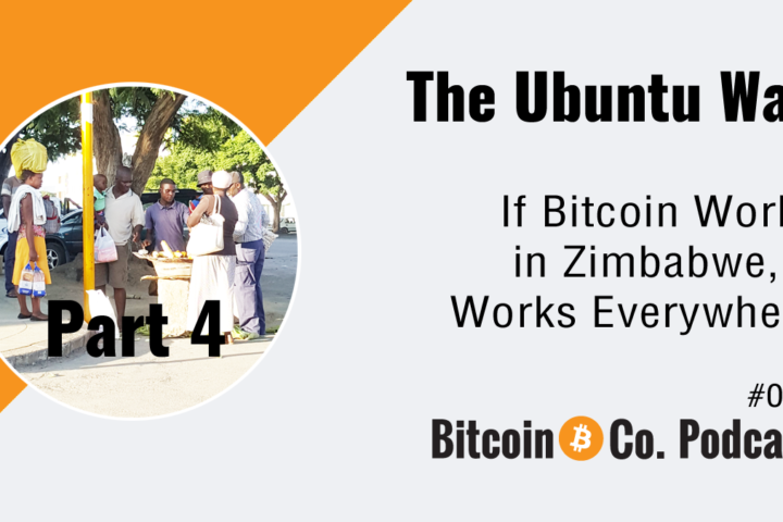 Podcast: Bitcoin Zimbabwe challenging conditions