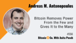 Andreas M. Antonopoulos Podcast Interview 2020
