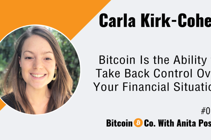 Carla Kirk-Cohen female bitcoin developer Podcast