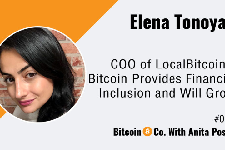 LocalBitcoins Interview Elena Tonoyan COO