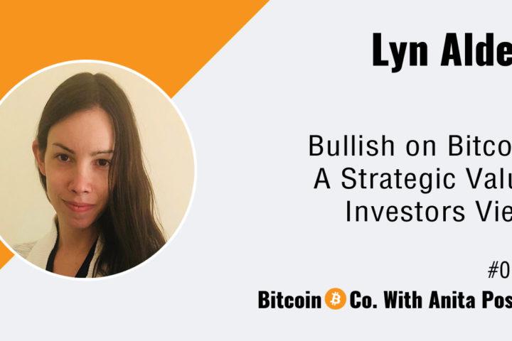 Bullish on Bitcoin Lyn Alden