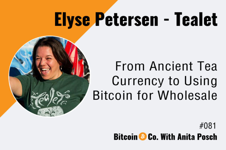 Elyse Petersen Using Bitcoin as Business Podcast