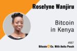 Roselyne Wanjiru Bitcoin in Kenya