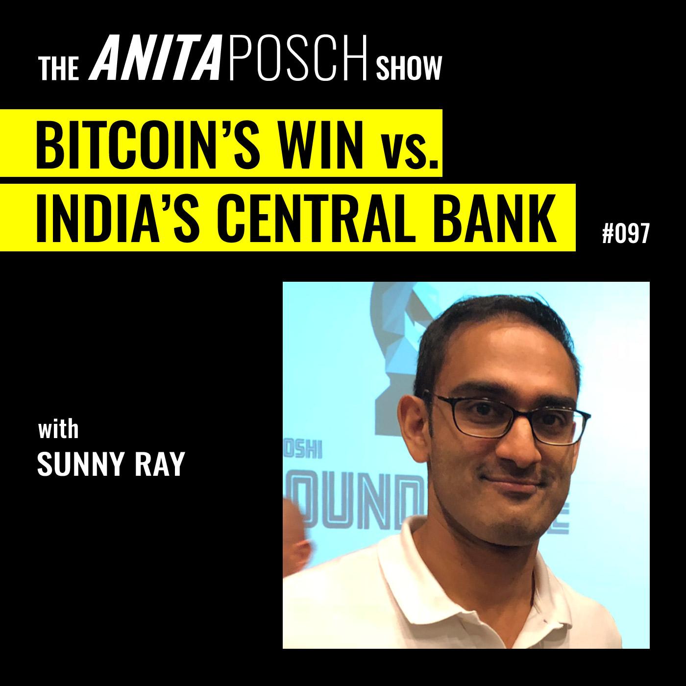 Sunny Ray: Bitcoin's Win vs. India's Central Bank