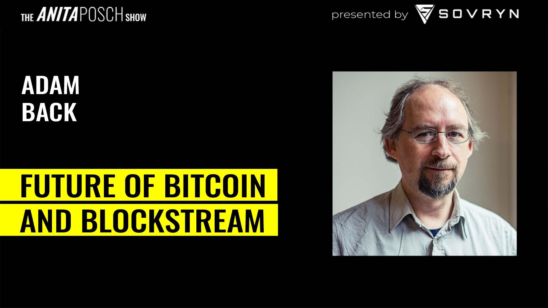 Adam Back, Blockstream Interview
